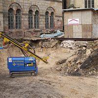 Bauvorhaben Domforum Osnabrück (Innenhof) Einfahrtsbreite 2,00m